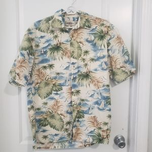 3/$25 sale Campia Moda Hawaiian shirt sz M